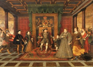 The Family of Henry VIII: an Allegory of the Tudor Succession