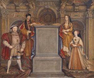 henry viii family portrait