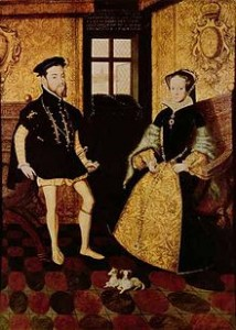 Mary Tudor and Philip of Spain - King and Queen of England