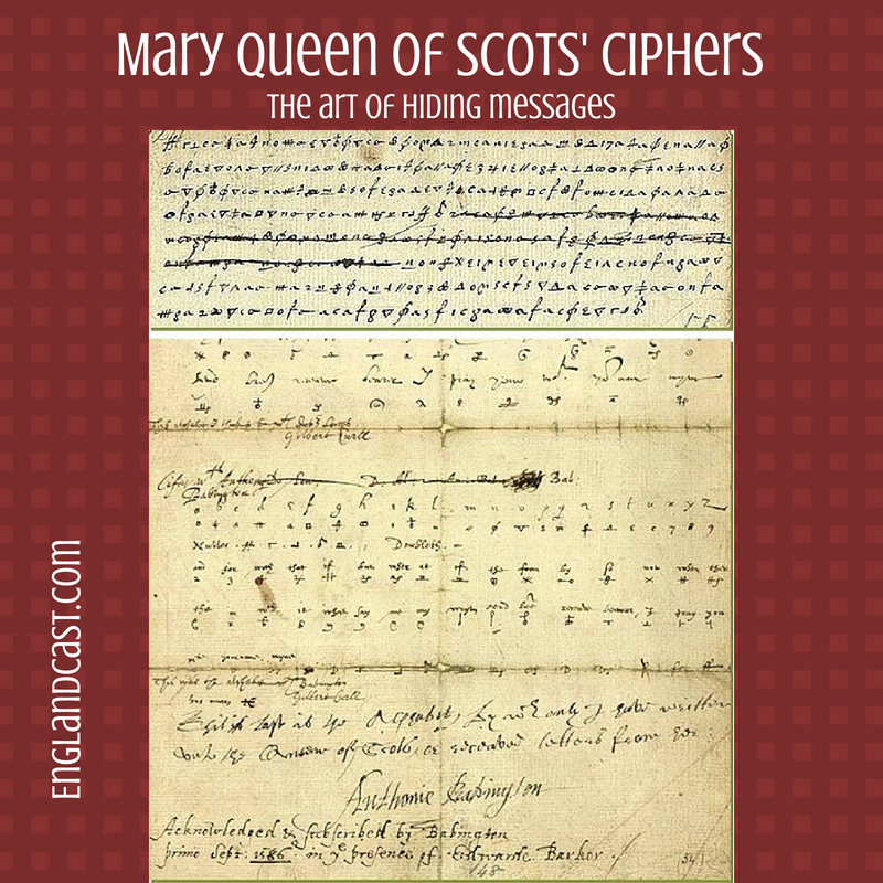 Mary Queen of Scots' Ciphers, and the art of message hiding